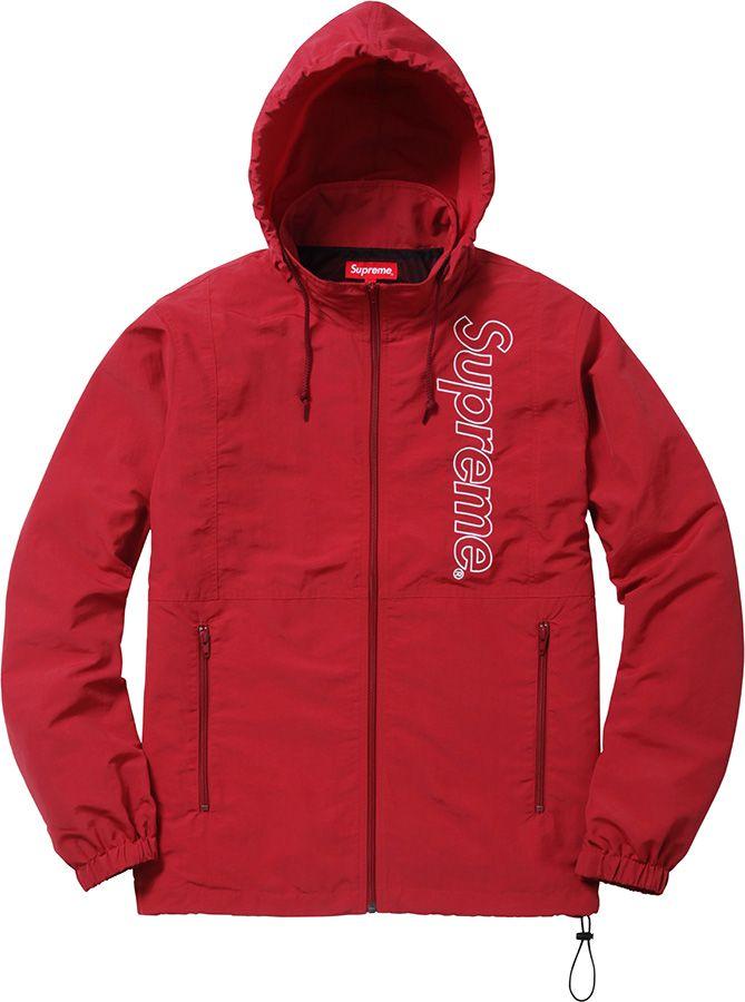 ca5b941be Supreme Nylon Windbreaker | À La Mode | Jackets, Windbreaker, Outfits