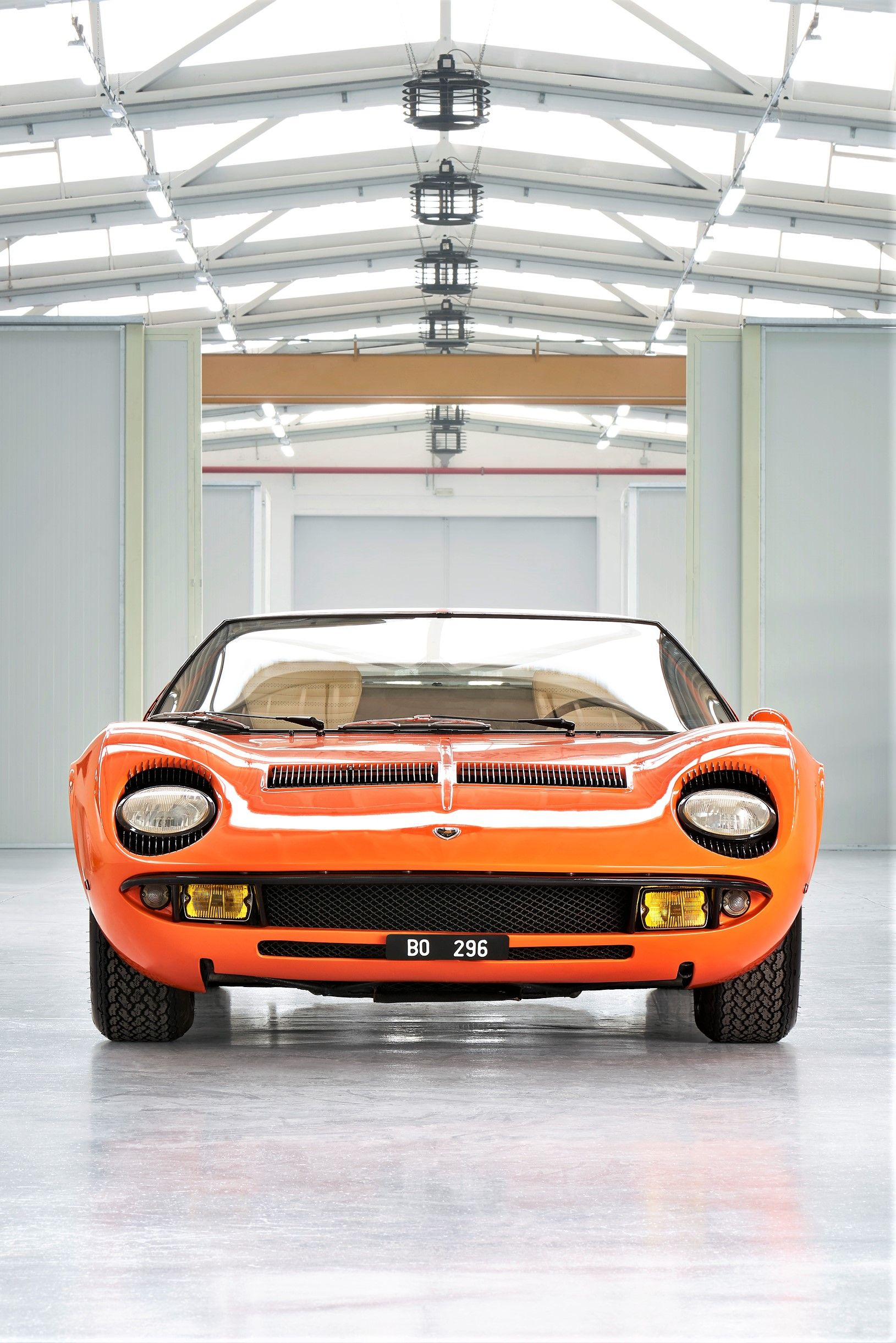 1969 Miura P400 chassis 3586 official car