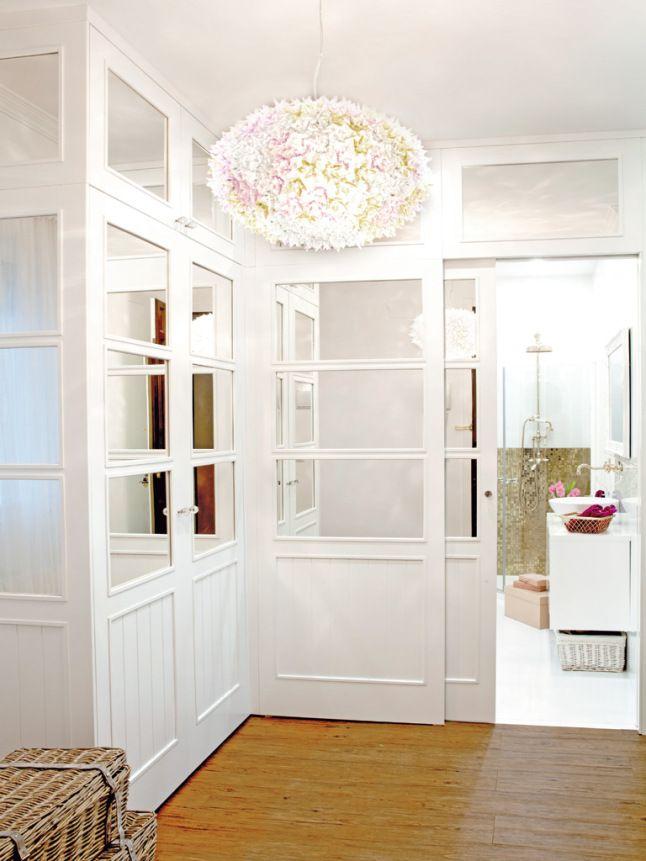 Un apartamento con toques femeninos en Madrid
