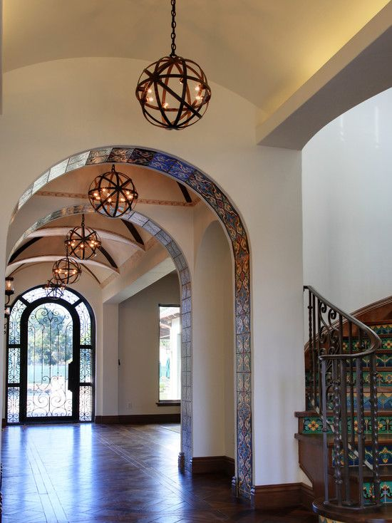 Spanish Archway Design Pictures Remodel Decor And Ideas Home In