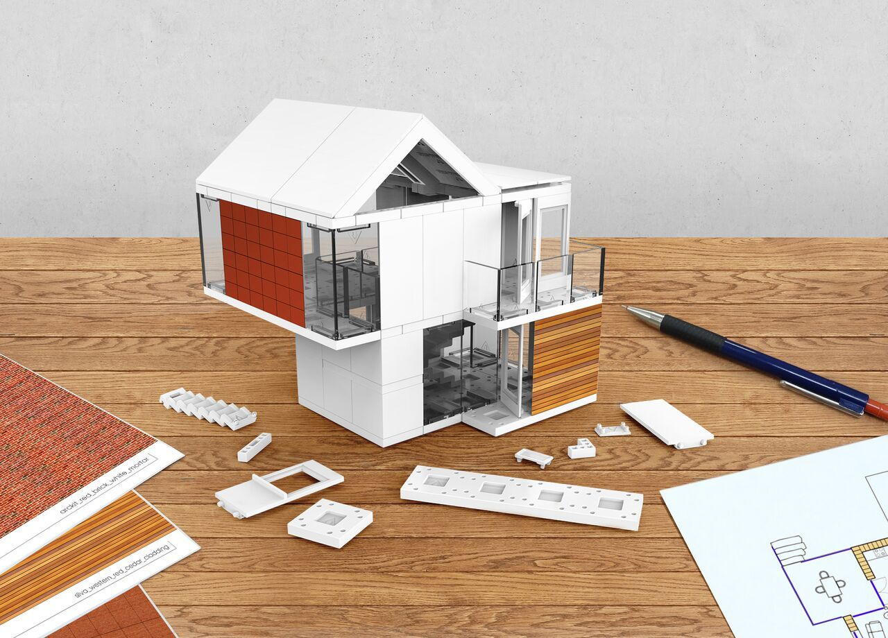Arckit: An architectural model building kit for developing