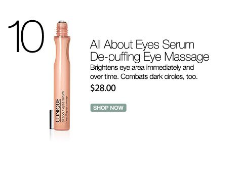 Clinique All About Eyes Serum De Puffing Eye Massage Vonmaur Clinique Fragrance Free Products All About Eyes