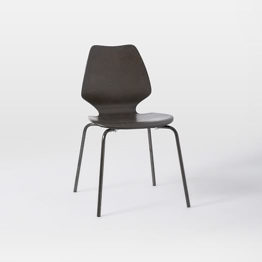 $158 For 2 Peppermill Chair, Charcoal At West Elm. Really Like The Oregano  Color