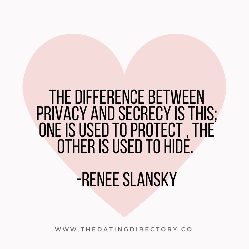 Do You Know The Difference Between Privacy And Secrecy