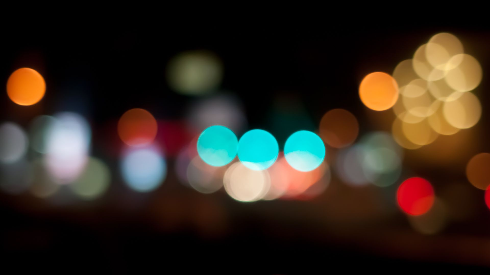Wallpaper Abstract Color Bokeh Lights Wheels Abstraction Colors