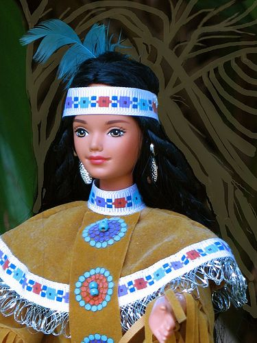 Native American Barbie
