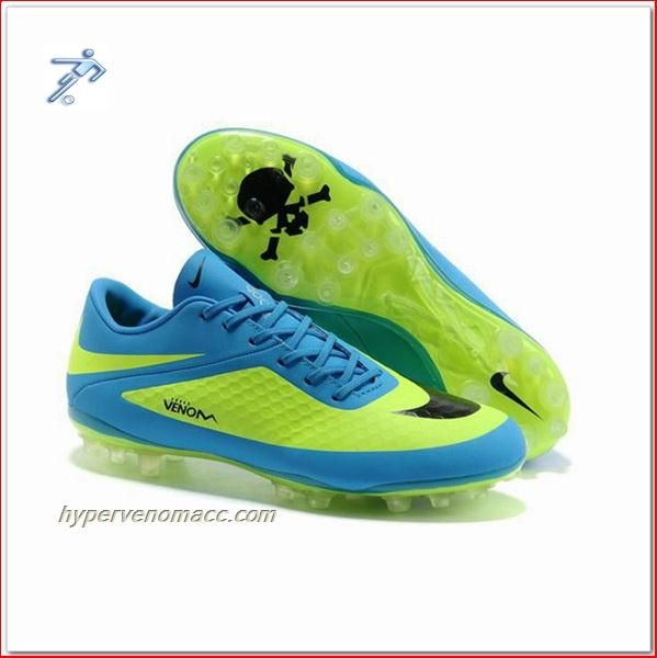 6e6e3894b7d3 ... purchase penalty futsal shoes review 2014 nike hypervenom phantom ag  light blue yellow ba632 a8df3