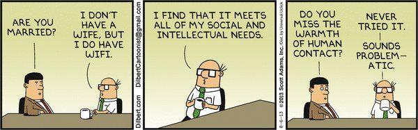 Dilbert- Yahoo comics