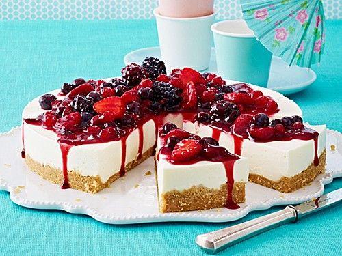 Torte joghurt beeren