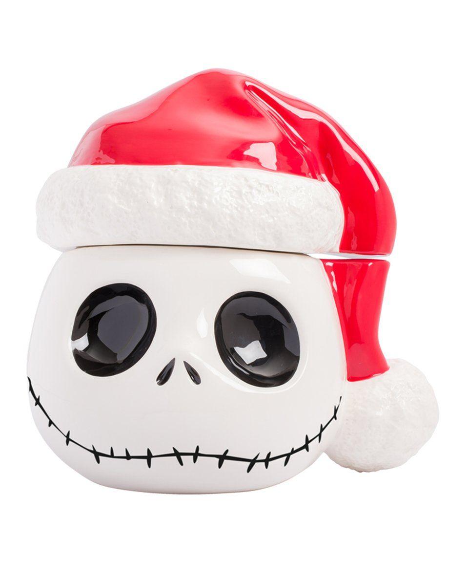 Take a look at this Nightmare Before Christmas Santa Hat Jack Cookie ...
