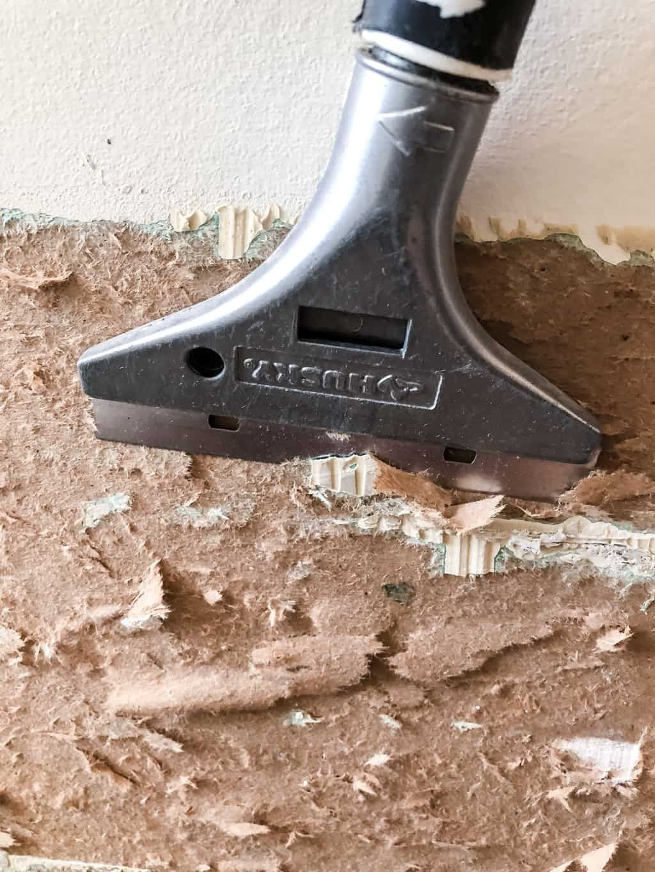 Repair Torn Drywall Paper with Zinsser Gardz Sealer