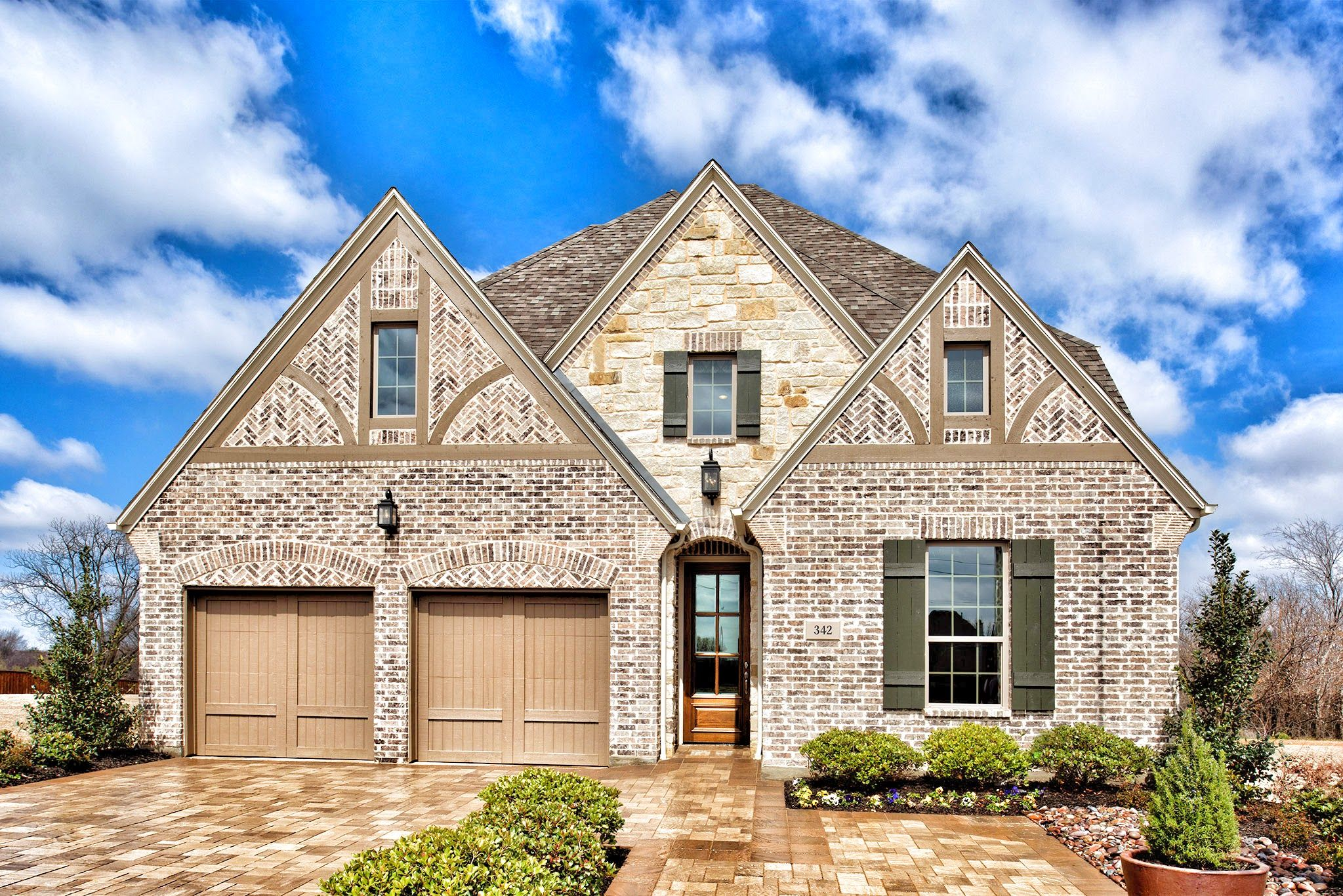 Beautiful #home by Darling Homes in Glade Hill. #homedesign #homeexterior #newhome