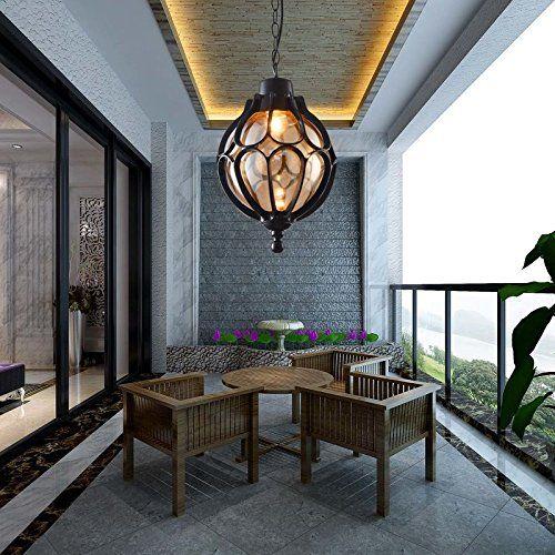 Personalized Vintage Pendant Lamps Simple Outdoor Balcony Corridor