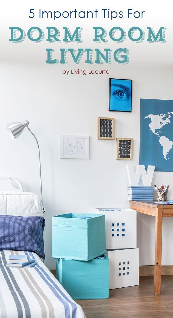 Design Your Own Dorm Room: 5 Tips For Dorm Room College Living
