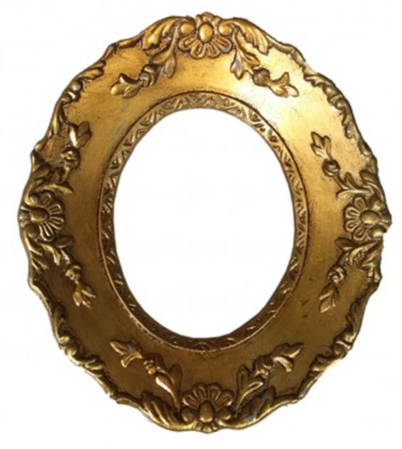 Marquito ovalado dorado | Pinterest | Marcos ovalados, Marco ovalado ...