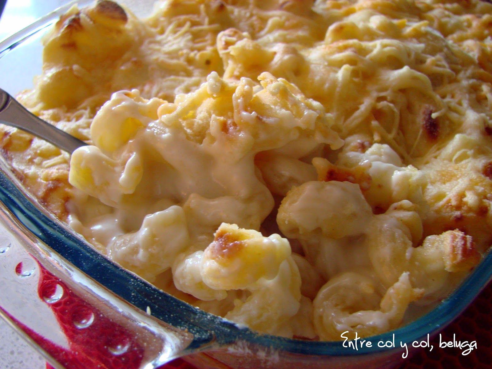 Mac & cheese receta thermomix