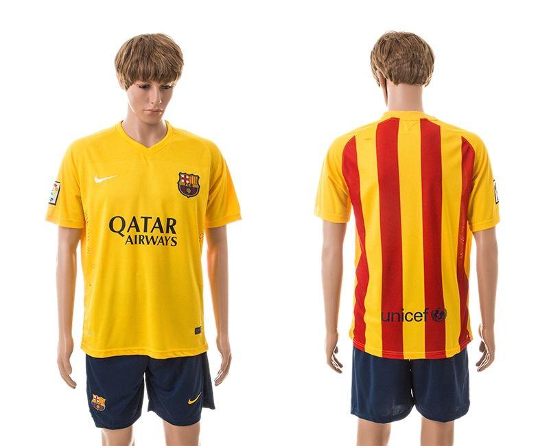 color amarillo fc barcelona camisetas segunda equipacin el frente ser amarillo puro