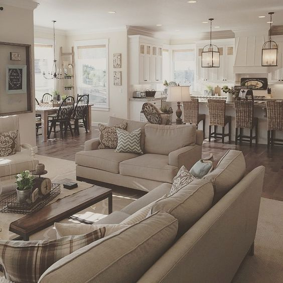 Majestic 95+ Beautiful Living Room Home Decor that Cozy and Rustic