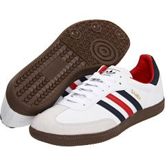 adidas Originals Samba Leder(weißLight ScarletGum