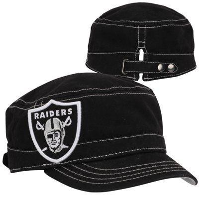New Era Oakland Raiders Chic Cadet Women's Military Hat