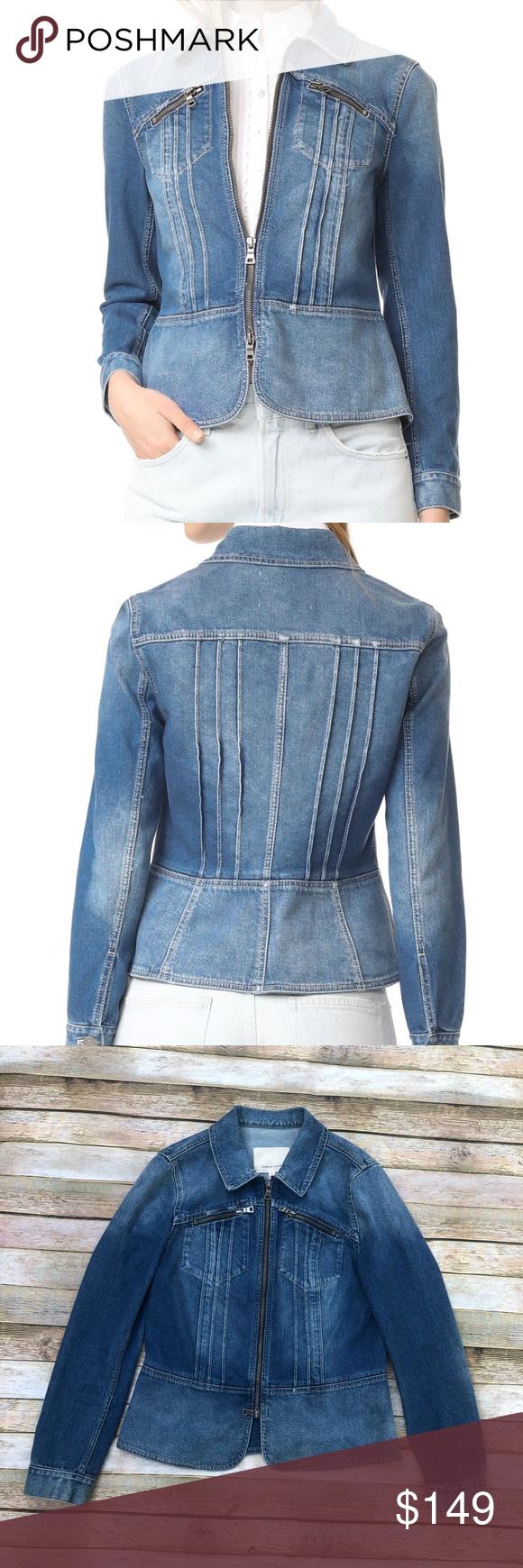 Rebecca Taylor Pintuck Denim Jacket Denim Jacket Rebecca Taylor Jackets [ 1740 x 580 Pixel ]