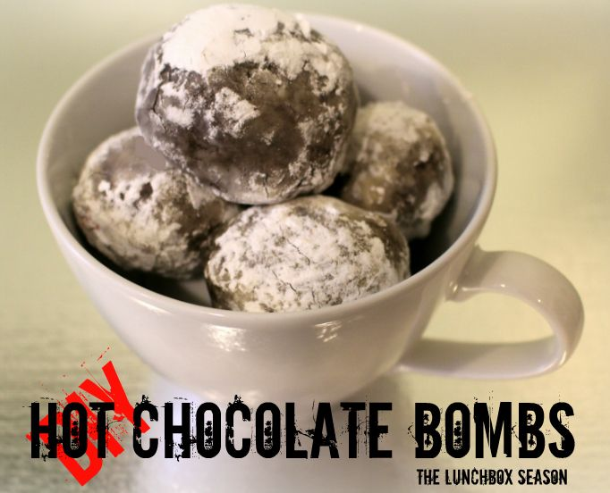 Diy Hot Chocolate Bombs From The Lunchbox Seasonjust Drop