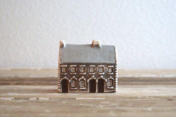 vintage Mudlen End Studio pottery miniature door aneedleinthehay