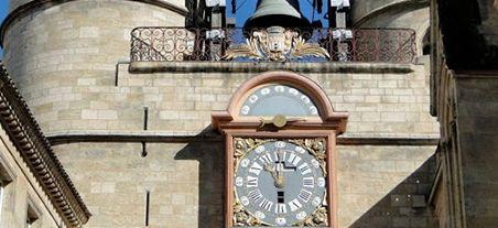 Tour de l'horloge in Bordeaux (Grosse Cloche)