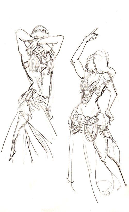 belly dancers by firshania on deviantART | Dancers art ...