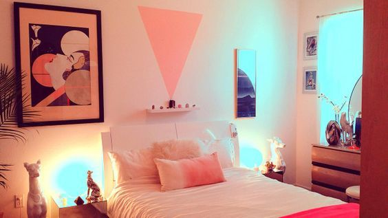 the '80s deco bedroom of heather hermann  retro bedrooms