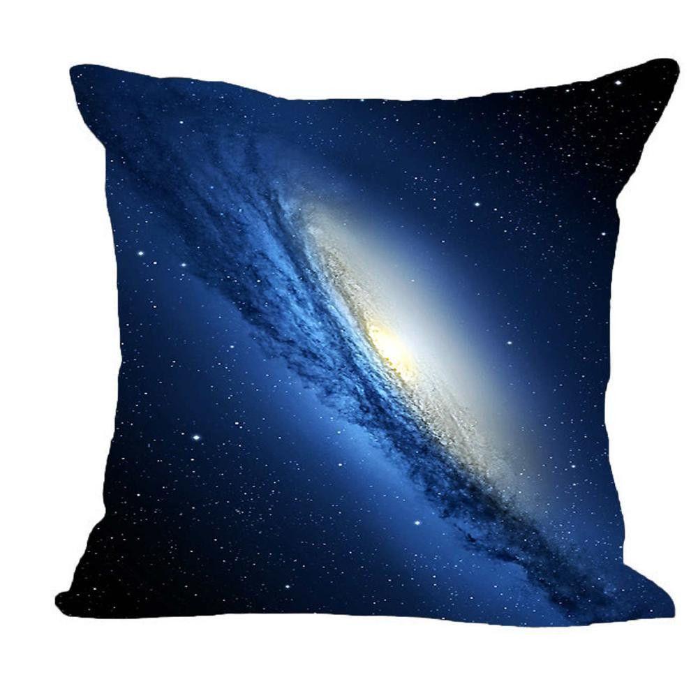 Modern design galaxy print pillow case galaxy print pillow cases