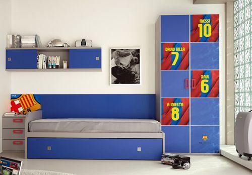 Cuarto del barcelona decoracion - Habitaciones infantiles barcelona ...