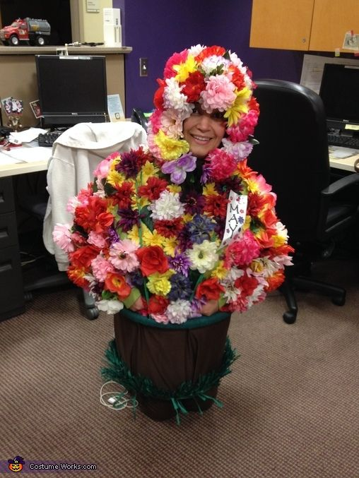 Adult Flower Pot - Homemade Halloween Costume  sc 1 st  Pinterest & Adult Flower Pot - Halloween Costume Contest at Costume-Works.com ...