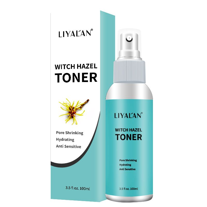 Factory Wholesale Oem Odm Private Label Organic Skin Care Moisturizing White Smooth Witch Hazel Facial Toner In 2020 Witch Hazel Toner Facial Toner Organic Skin Care