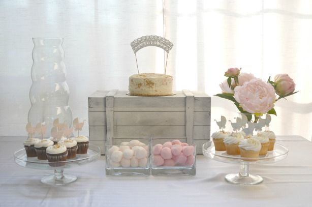 Vintage Inspired Gender Reveal Party Ideas