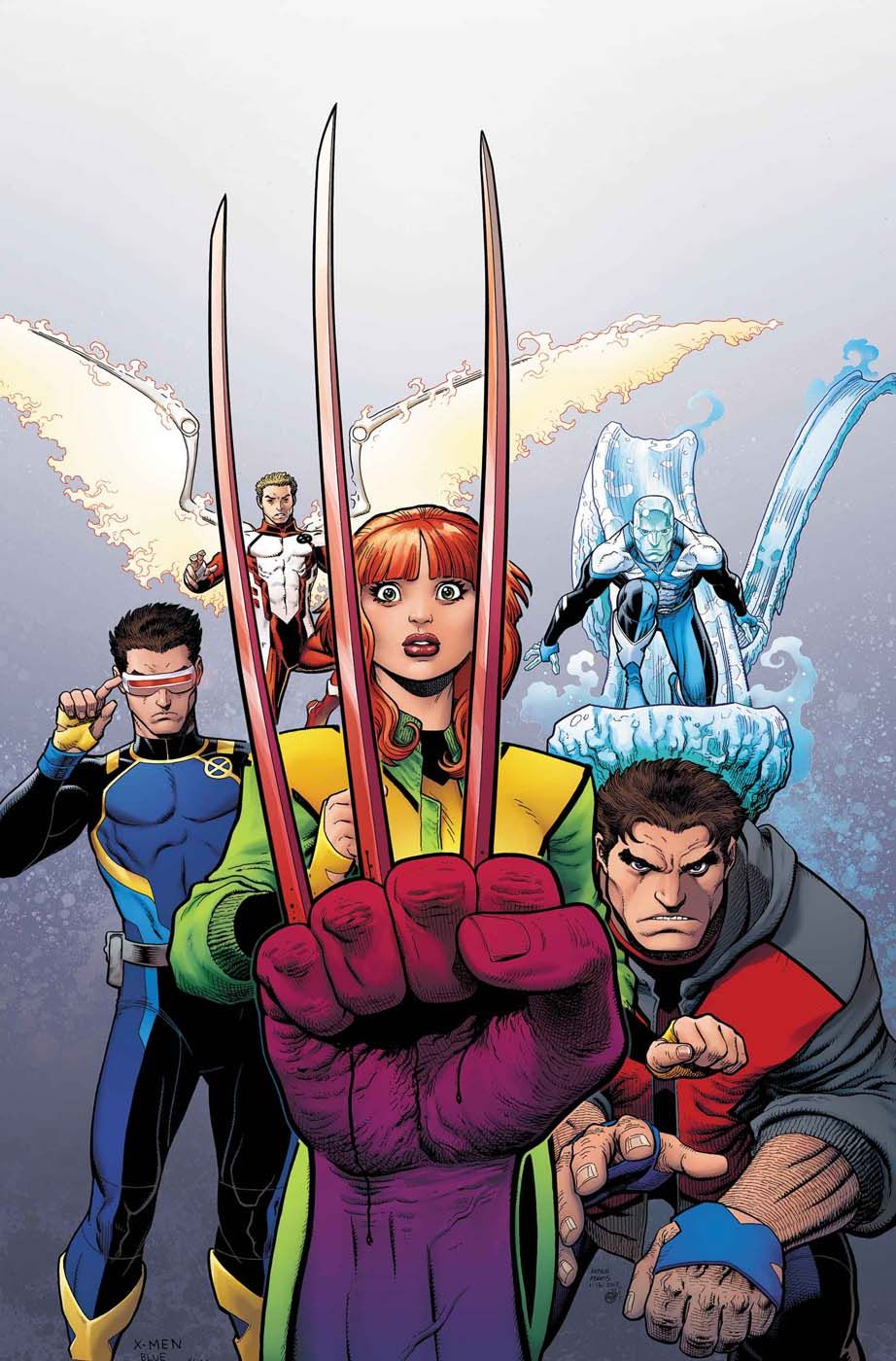 Review X Men Blue 4 Straightforward But A Little Threadbare X Men Marvel Comic Books Comics