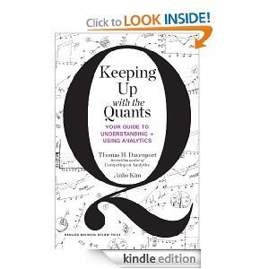 Amazon.com: Keeping Up with the Quants: Your Guide to