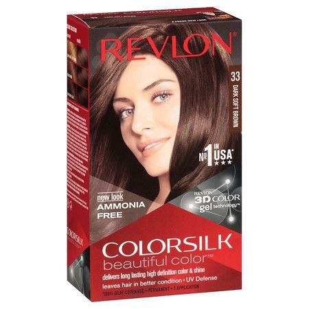 Revlon Colorsilk Beautiful Color 33 Dark Soft Brown 1 Ea