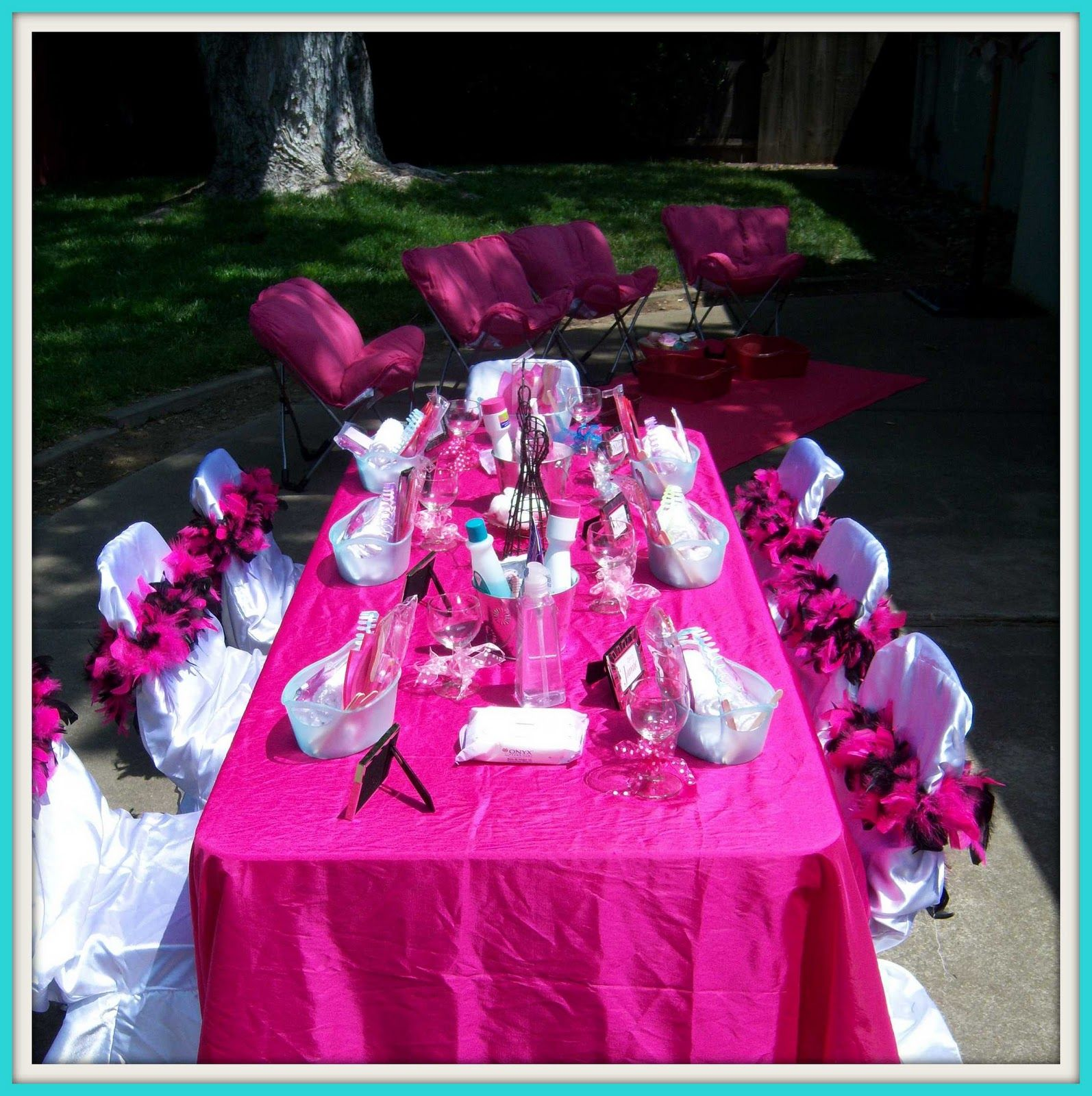 Party Table Decoration Ideas for little girls Table decoration