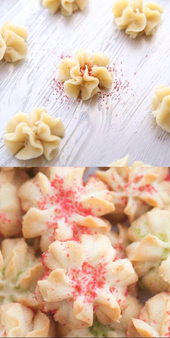 Spritz Butter Cookies! -   19 best holiday Cookies ideas
