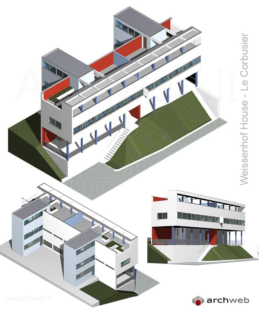 Casa weissenhof de le corbusier buscar con google - Casas de le corbusier ...