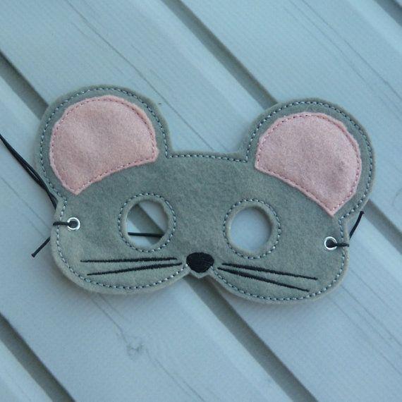 Feutre gris souris masque mice felt and grey - Chambre gris souris ...