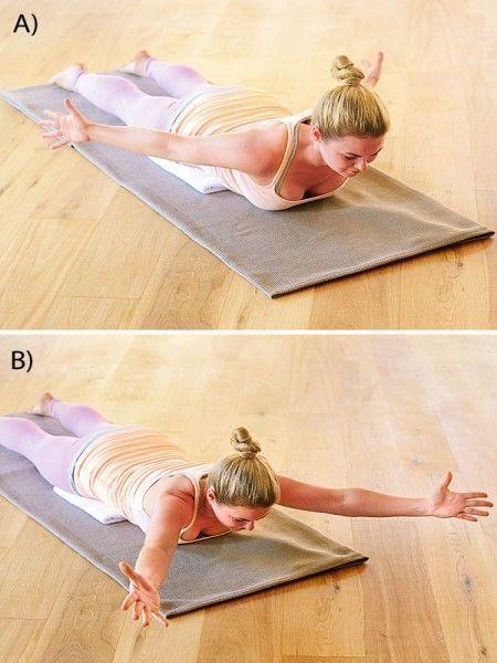 6 Übungen, die wirklich gegen Rückenschmerzen helfen ...