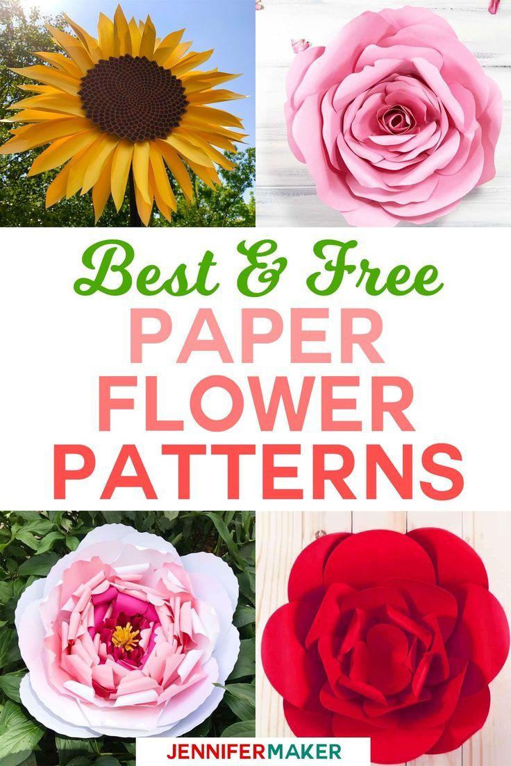 Diy Paper Flowers The Best Free Tutorials Patterns Videos