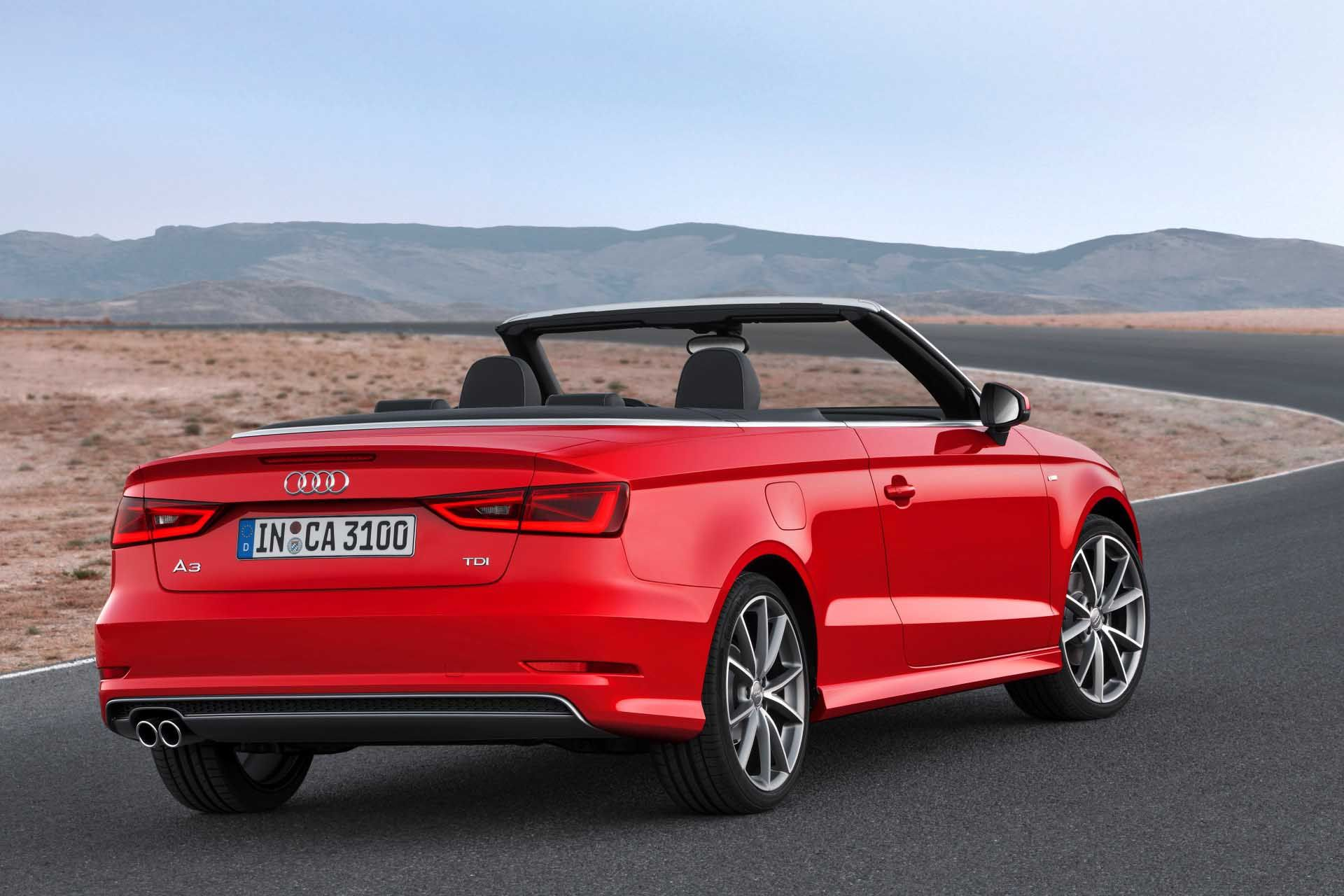 Download Super Audi A3 Cabriolet Rear View Free Download Picture Full Size 65