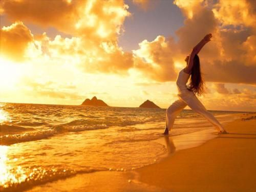 Would love to do yoga with such beautiful scenery.