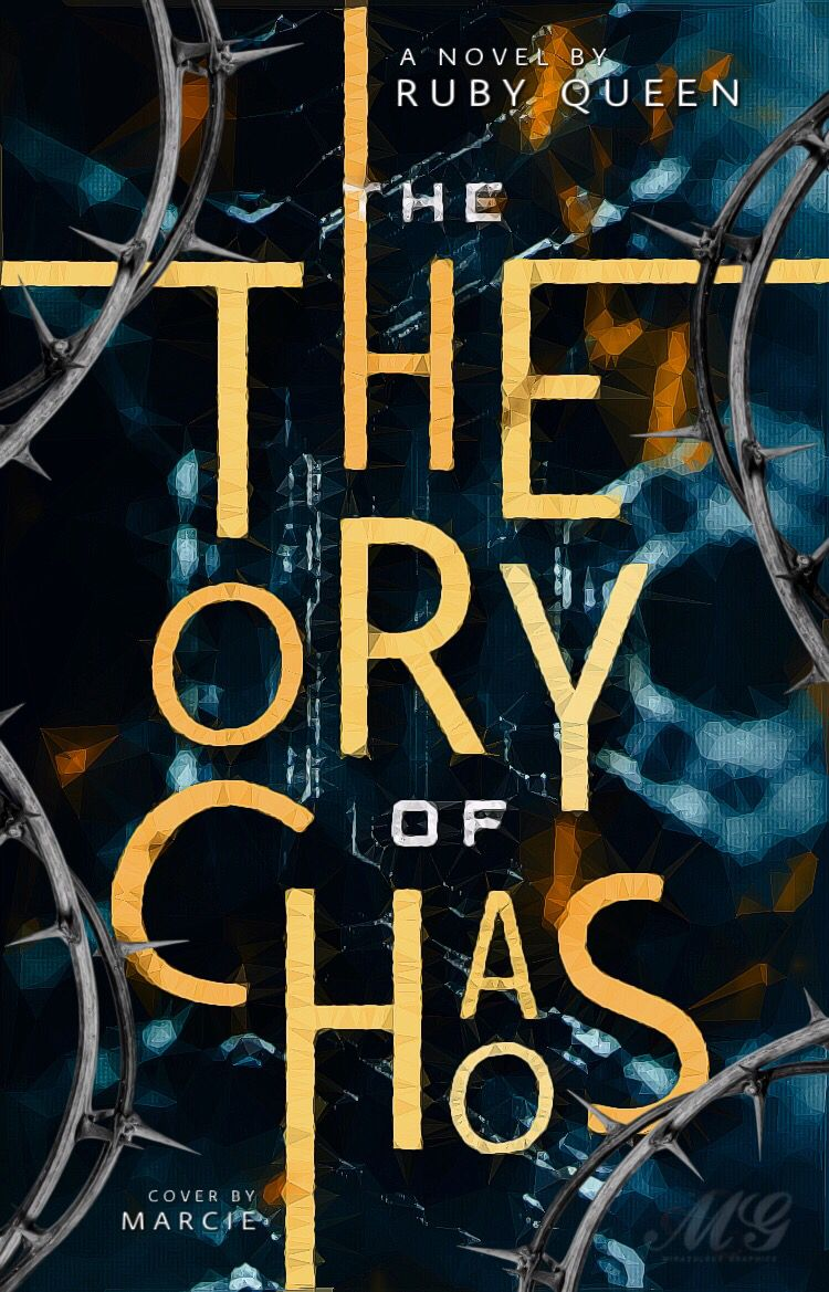 The Theory Of Chaos Book Cover Design Inspiration Creative Book Covers Book Cover Design