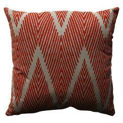 """Bali Lumbar Toss Pillow - Mandarin (11.5x18.5"""")"""