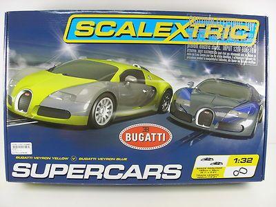 Scalextric Supercars Race Set 1 32 Slot Car Set C1297t Ebay Slot Car Sets Slot Cars Car Set