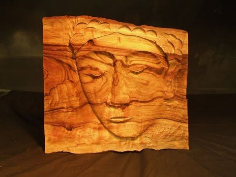 Easy wood carving project diy create this stunning face carving